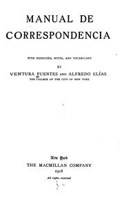 Cover of: Manual de correspondencia by Ventura Fuentes