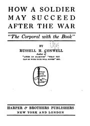 Cover of: How a soldier may succeed after the war