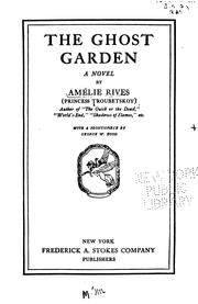 Cover of: ghost garden | AmГ©lie Rives