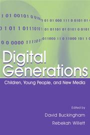 Cover of: Digital generations