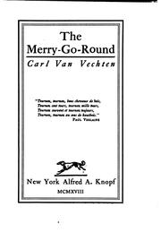 Cover of: The merry-go-round | Carl Van Vechten