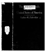 Cover of: The Virgin Islands of the United States of America | Luther K. Zabriskie