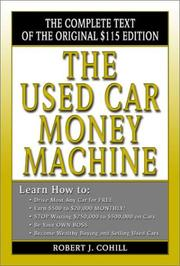 Cover of: The Used Car Money Machine