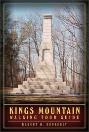 Cover of: Kings Mountain Walking Tour Guide