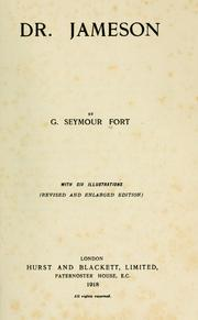 Cover of: Dr. Jameson | George Seymour Fort