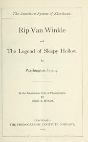 VAN WINKLE TEXT FULL RIP
