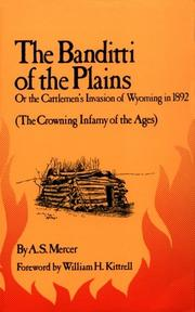 Cover of: The Banditti of the Plains