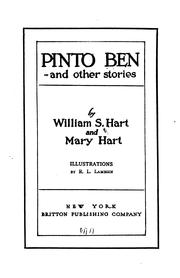 Cover of: Pinto Ben | William Surrey Hart