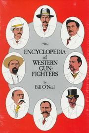 Cover of: Encyclopedia of western gunfighters