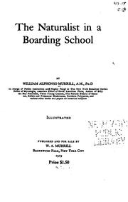 Cover of: The naturalist in a boarding school