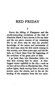 Cover of: Red Friday