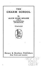 Cover of: The charm school