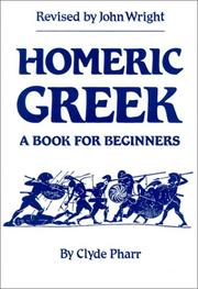 Homeric Greek by Pharr, Clyde