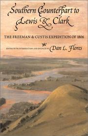 Cover of: Southern Counterpart to Lewis and Clark