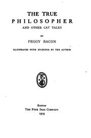 Cover of: The true philosopher and other cat tales