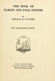Cover of: The book of fables and folk stories