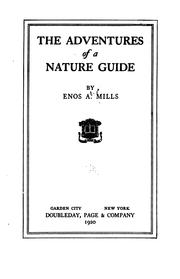 Cover of: The adventures of a nature guide
