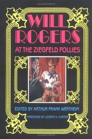 Cover of: Will Rogers at the Ziegfeld Follies