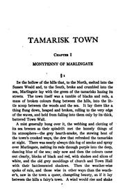 Cover of: Tamarisk town