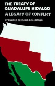 Cover of: The Treaty of Guadalupe Hidalgo