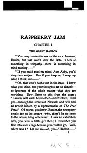 Cover of: Raspberry Jam