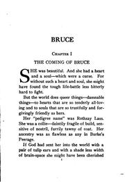 Cover of: Bruce