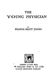 Cover of: The young physician
