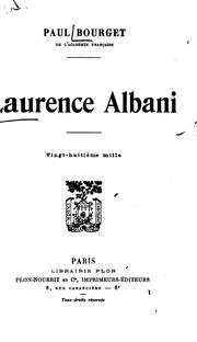 Cover of: Laurence Albani