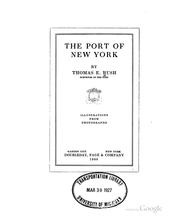 Cover of: port of New York | Thomas Edward Rush
