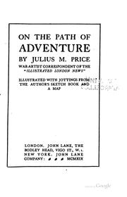 Cover of: On the path of adventure