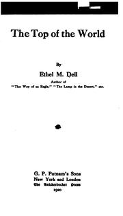 Cover of: top of the world | Ethel M. Dell