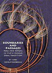 Cover of: Boundaries and Passages | Ann Fienup-Riordan