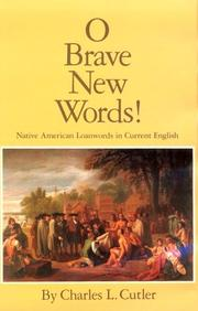 Cover of: O brave new words! | Charles L. Cutler