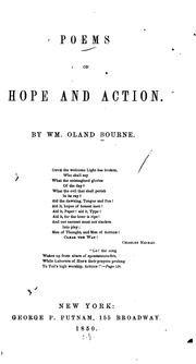 Cover of: Poems of hope and action