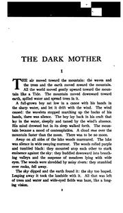 Cover of: The dark mother