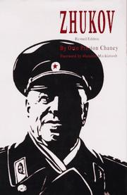 Cover of: Zhukov