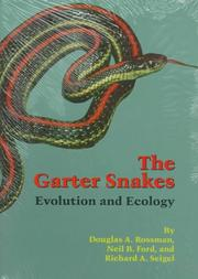 Cover of: The garter snakes