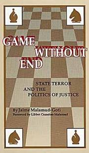 Cover of: Game without end
