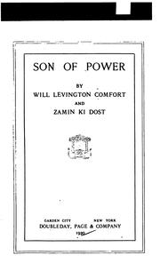 Cover of: Son of Power