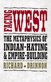 Cover of: Facing west | Richard Drinnon