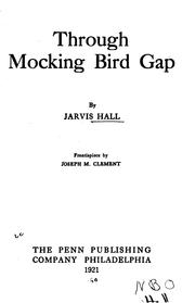 Cover of: Through Mocking Bird Gap