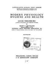 Cover of: Modern physiology, hygiene and health | Mary S. Haviland