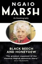 Black Beech and Honeydew by Ngaio Marsh