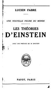 Cover of: Une nouvelle figure du monde
