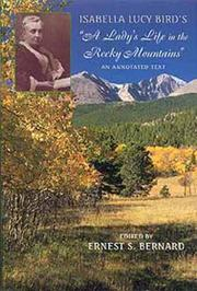 "Cover of: Isabella Lucy Bird's ""A lady's life in the Rocky Mountains"": an annotated text"