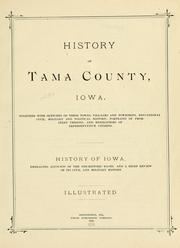 Cover of: History of Tama County, Iowa |