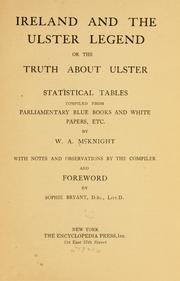 Cover of: Ireland and the Ulster legend