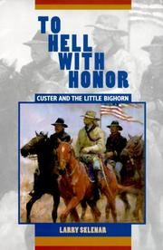 Cover of: To Hell With Honor