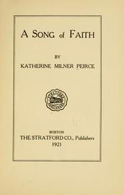 Cover of: A song of faith