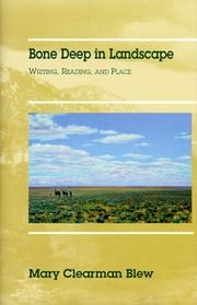 Cover of: Bone deep in landscape